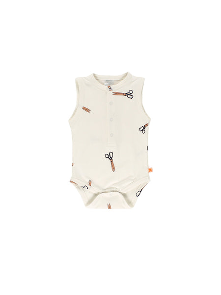 tiny cottons - scissors bodysuit