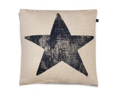 ooh-noo - black star cushion case