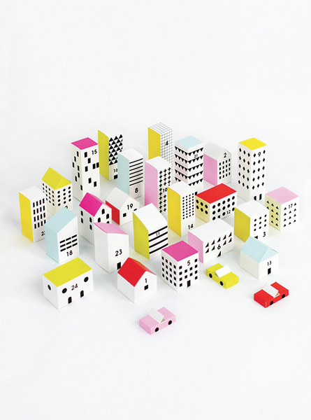 Moon Picnic - Paper City Advent Calendar