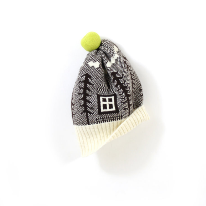 Colette Bream - soft knitted wooly 'cottage' hat