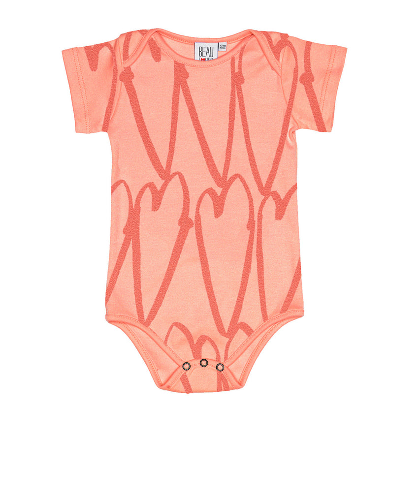 beau loves - short sleeve body suit