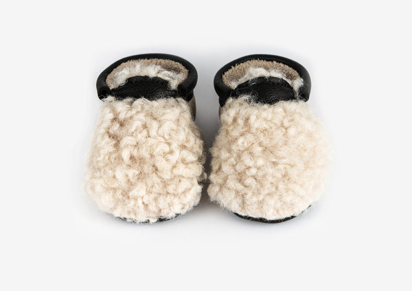 Amy and Ivor - Yeti Moccasins