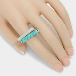 Marble Bar 2-pce Stretchable Ring