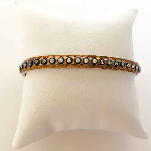 Swarovski crystal bangle wristband bracelet