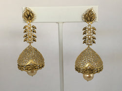 Shining Bee E-9 Fashion Jewelry Long Dangly Earrings Brand New