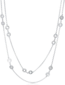 Sterling Silver Necklace - 24