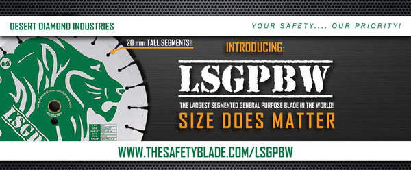 Largest Segmented General Purpose Blade in the World (LSGPBW) - Size Does Matter!