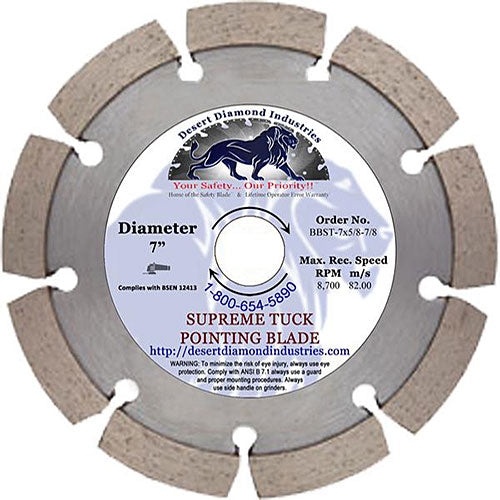 Desert Diamond Industries - Tuck Pointer - Premium Blades