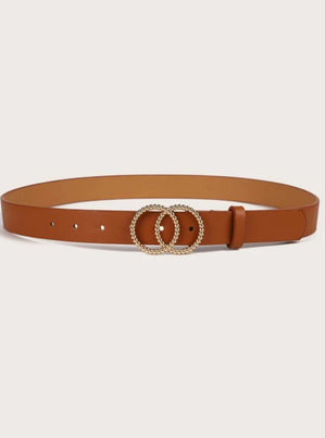 Double Ring Buckle Belt (Readystock)