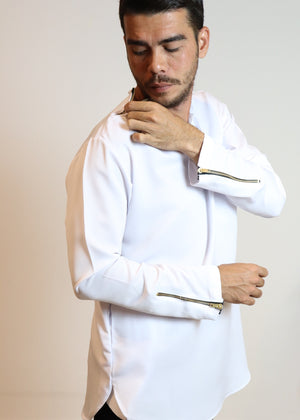 Kurta Men Code #4 White (M & L)