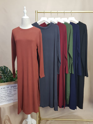 Long Side Slit Tunic (Readystock)