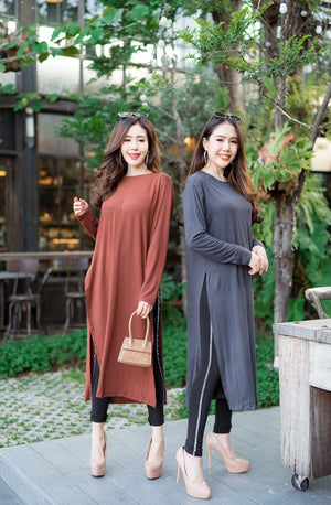 Long Side Slit Tunic
