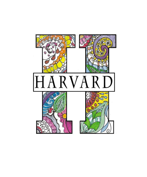 Harvard Paisley H - Adult Sizing