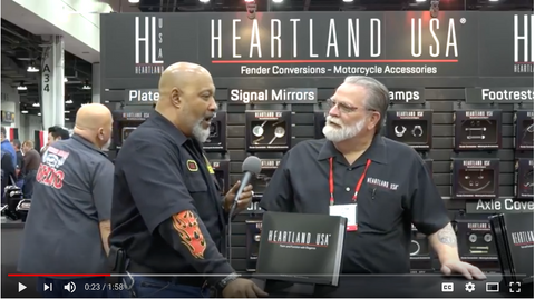 Heartland USA at the 2017 V-Twin Expo