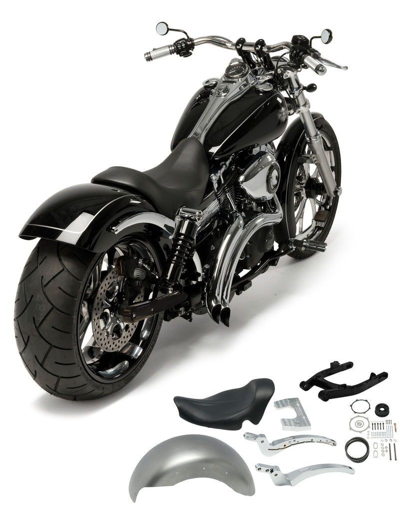 240 D Wide Tire and Fender Conversion Fits Dyna® 2006 to 2017 – Heartland USA
