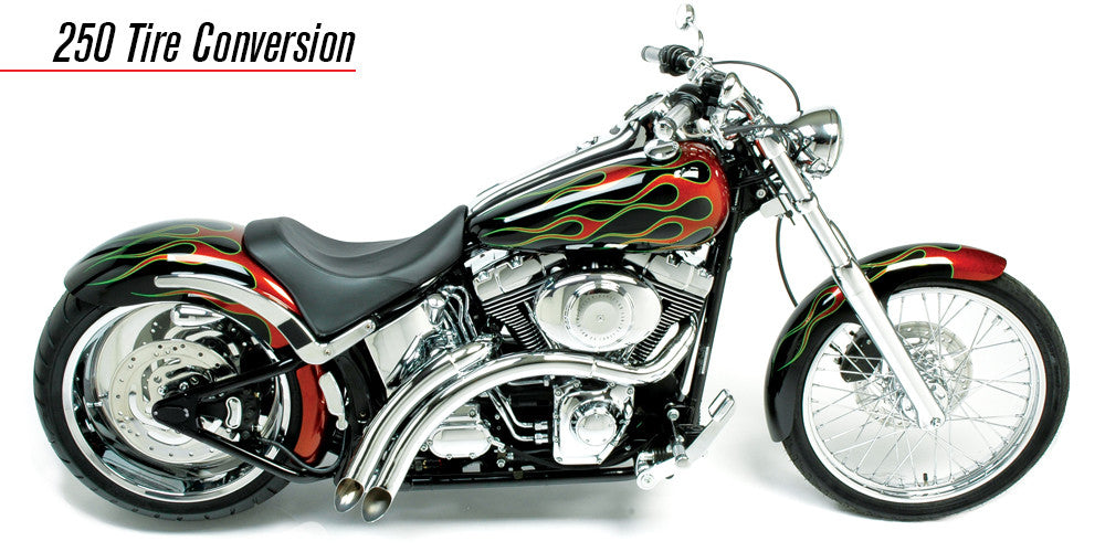 Two-Five-O Wide Tire Fender Swing Arm Conversion For Deuce