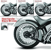 Two-Five-O Wide Tire Fender Conversion for 1991 to 1999 Softail® Models