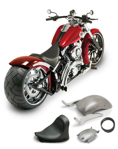 Heart Breaker 280 Rear Wide Tire Fender Conversion for Breakout®   2013 to 2017
