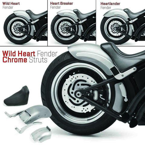 200 Fender Conversion fits Softail® Models 2000 to 2007 with non Stock 200mm tire