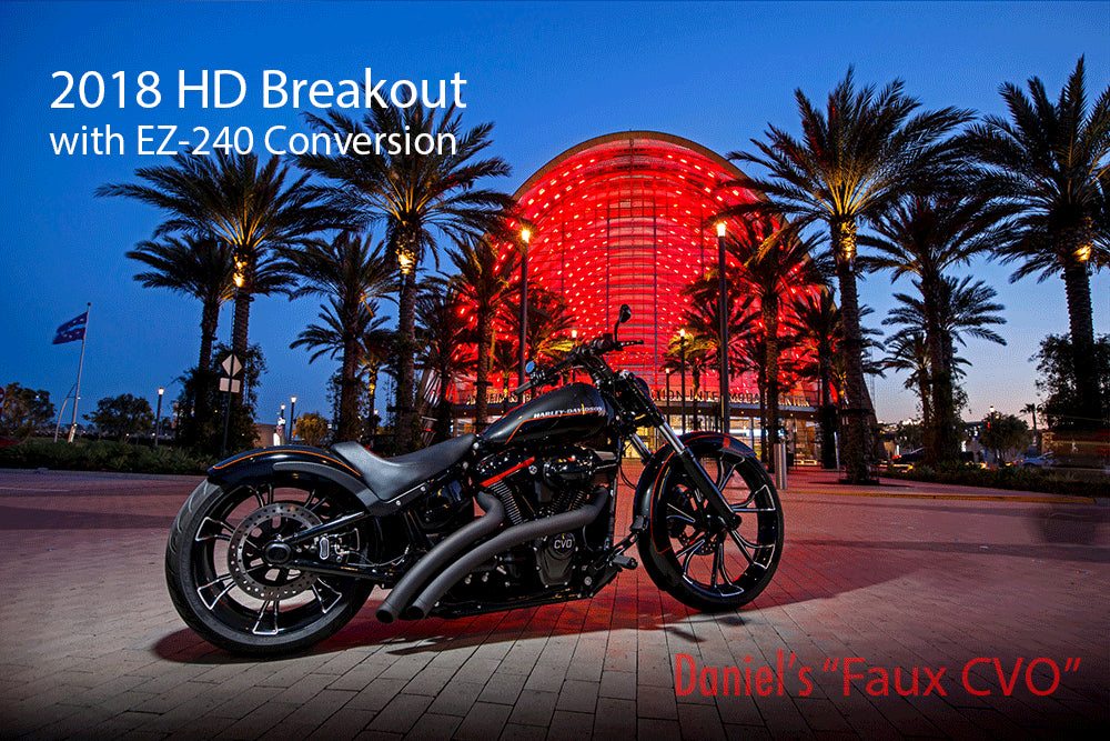 M-8 Softail 240 conversion, Breakout, Harley-Davidson, CVO