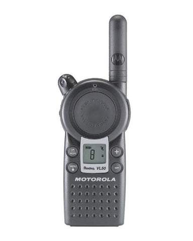 Motorola VL50 Analog Portable Radio, UHF, 8 Channel