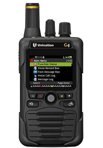 Unication G5 700/800 MHz and UHF or VHF P25 Voice Pager