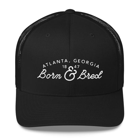 Born & Bred Trucker in Black