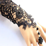 Tattoo Lace Rose Bracelet