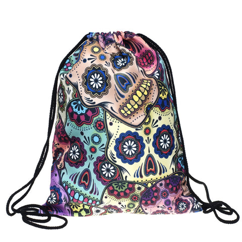 Sugar skull Sackpack