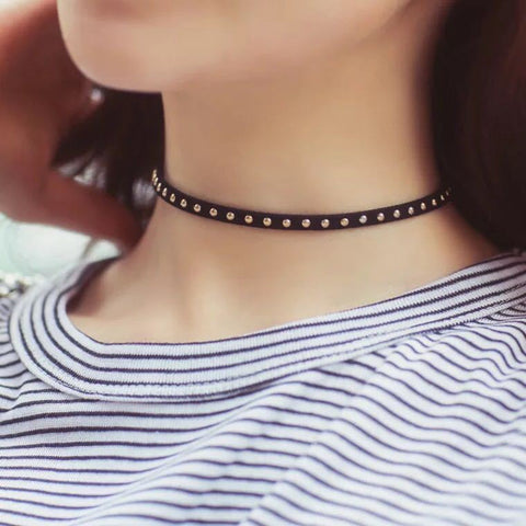 Black Choker Necklace