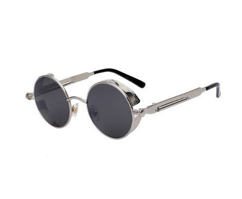 *Steampunk Round Sunglasses
