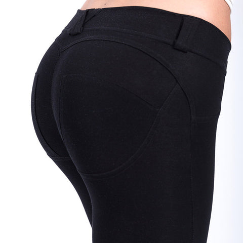 Push Up Elastic Leggings