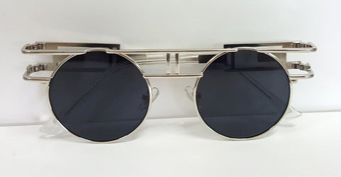 Metal Frame Sunglasses - Many Colors