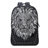 3D Lion Backpack