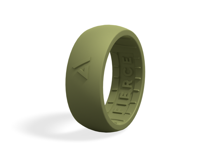 Men's Fierce Ring / Forest Green