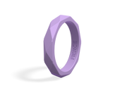 Women's Geometric Fierce Ring / Lavender