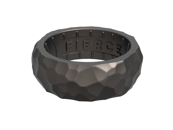 Men's Forged Fierce Ring / Gunmetal