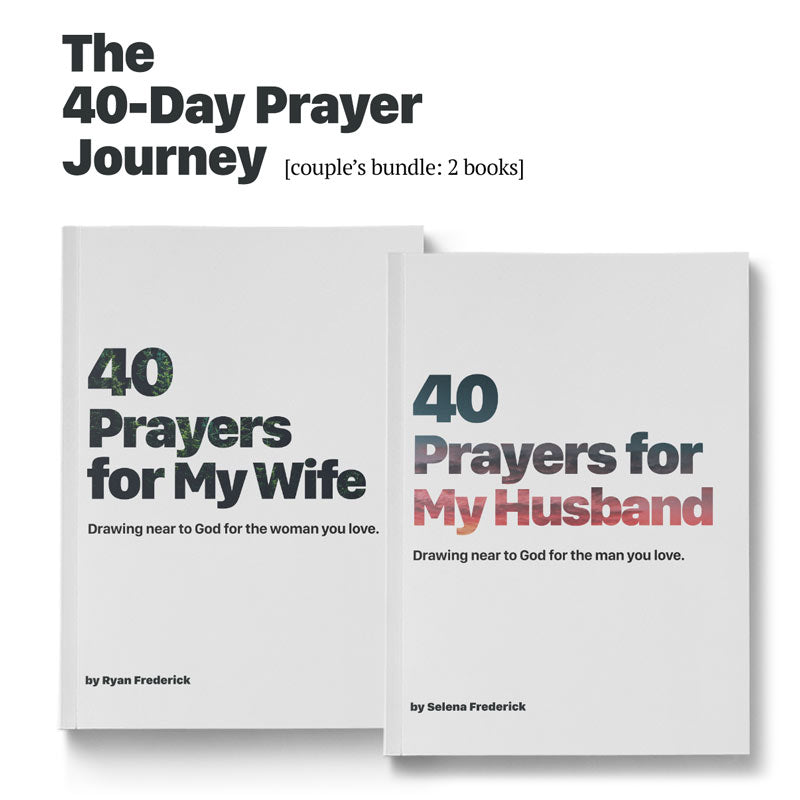 40-Day Prayer Journey: Couple's Bundle (2 books)