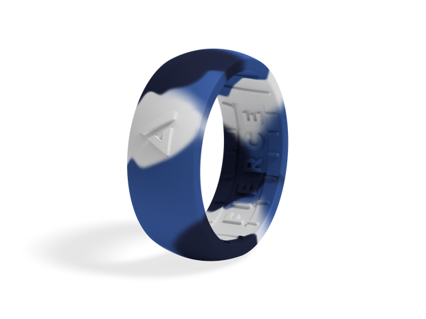 Men's Fierce Ring / Blue Camo