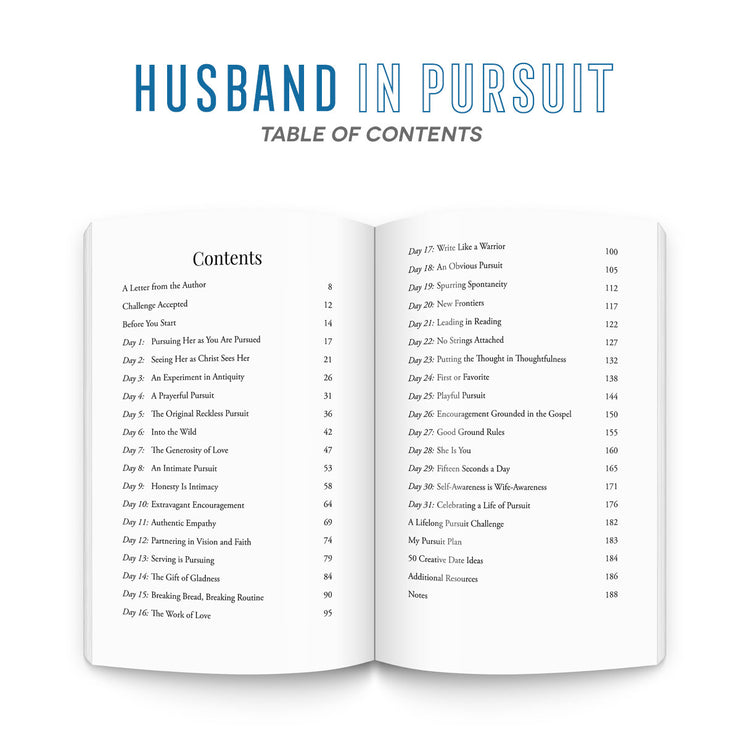 (Bulk Order) The 31 Day Pursuit Bundles (2 books per bundle)