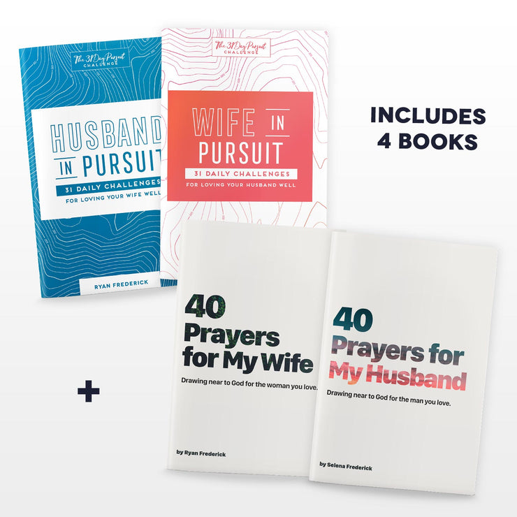 Pray & Pursue Couple's Bundle