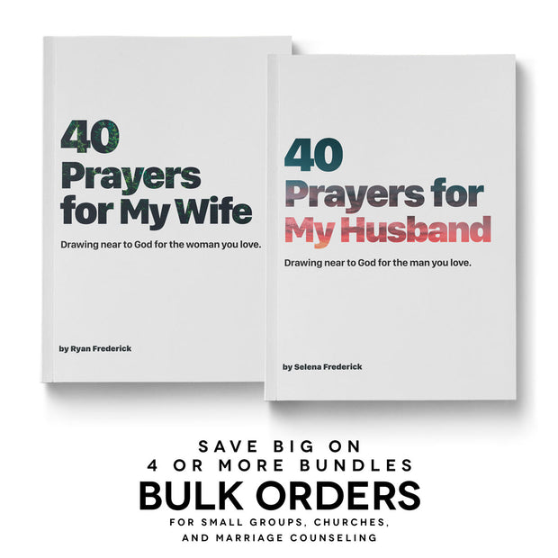 (Bulk Order) The 40 Day Prayer Journey (2 books per bundle)