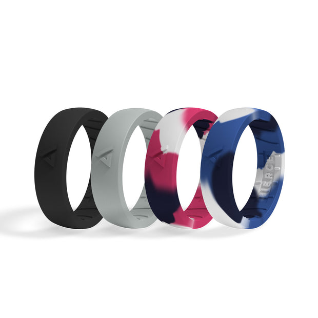 Women's Silicone Ring 4-Pack