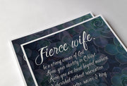 """Fierce Wife"" Poster"