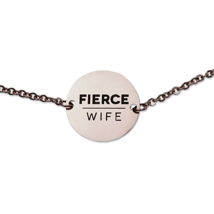 "NEW ""He First Loved Us"" Coin Pendant Necklace, Rose Gold"