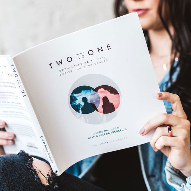 (Bulk Order) Two as One: a 30-Day Couple's Devotional