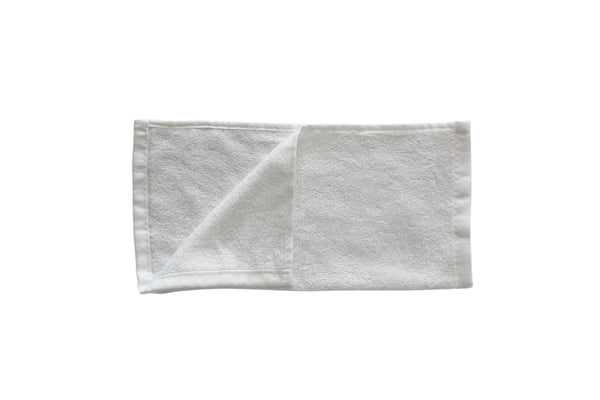 Premium Bamboo Baby Wash Cloths - Pack of 6 - 25x25cm - 400GSM