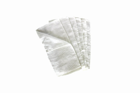 Premium Bamboo Face Cloths - Pack of 6 - 25x25cm - 400GSM : Facial Cleansing & Makeup Removal …
