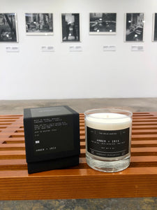 The Bold Series Soy Candle - AMBER + IRIS - Case of 6