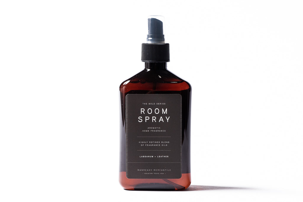 Bold Series Room Spray | Labdanum + Leather